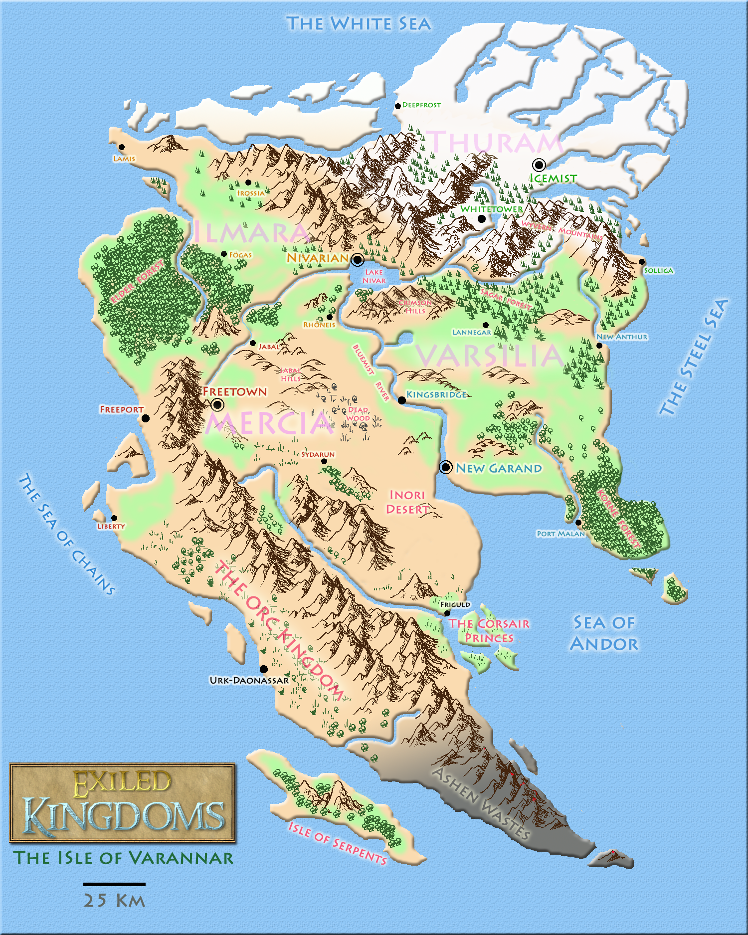 World map - Exiled Kingdoms on world map, class map, zoology map, dissidia map, domain map, disney's map, gormenghast map, uk great britain map, klan map, geographix map, perception map, cornplanter map, the 100 map, animal map, end times map, bloodline map, protist map, east and southeast asia map, old medieval europe map, kings map,